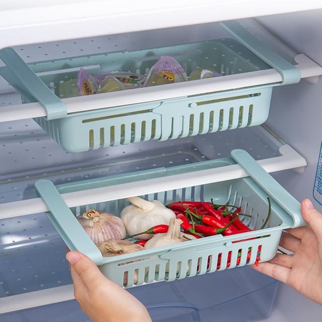 Adjustable elastic organizer for the refrigerator  4