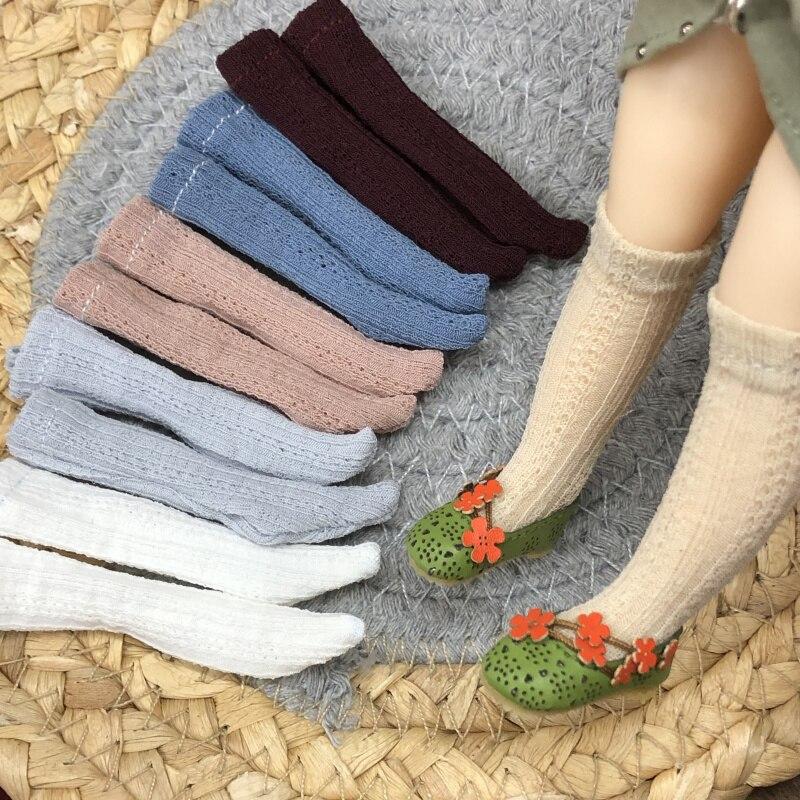 Blyth Кукла Одежда ворс носок Барби Высокие гольфы до колена для OB,Momoko,Azone,Kurhn,Blyth 1/6 кукла аксессуары