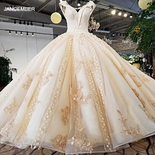 LS37410 new design luxury champagne color and pink decorate v neck open key hole back crystal wedding dress corset corset dress