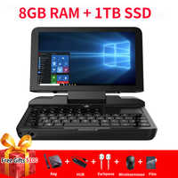 GPD MicroPC Micro PC 6 Zoll Intel Celeron N4100 Windows 10 Pro 8GB RAM 128GB ROM Tasche laptop Mini PC Computer Notebook