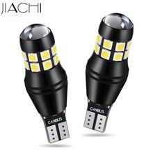 JIACHI 100 Chiếc T15 LED T16 W16W 921 3030SMD 20Chip Xi Nhan Canbus OBC Lỗi Giá Rẻ Sáng Dự Phòng Đảo Chiều Chiếu Sáng 1200LM trắng DC 12 24V