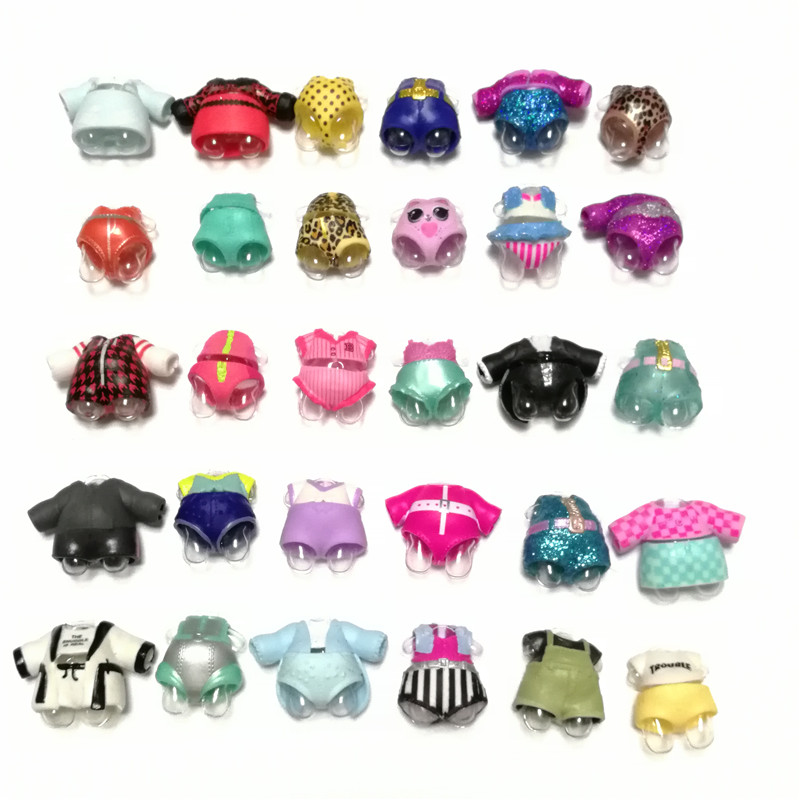 1pcs Original LOLs Doll Clothes Many Styles Can Choose Dress Accessories For 8cm Big Sister Dolls Collection Girl's Gift