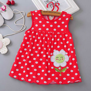 Baby girl dress 2018 summer girl baby dress, hot summer baby dress, summer dress low price(China)
