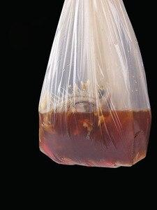 Image 2 - תירס מתכלה ביתי אשפה שקיות מסווג חד פעמי אסלת ניקוי מטבח אשפה שקיות פלסטיק עבה שקיות לשבור