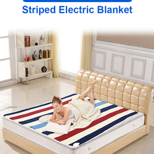 Электрическое одеяло с подогревом 220 В 2 корпуса 150*180 см двойное управление электрическое одеяло с мелким принтом Манта электро кровать-грел...