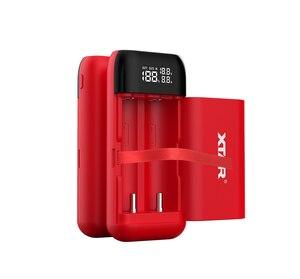 Image 2 - XTAR כוח בנק LCD USB מטען QC3.0 סוג C קלט PB2S עבור 18700 20700 21700 18650 סוללה/רק PB2 סוללה מטען עבור 18650