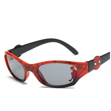MXDYM Children Girls sunglasses Spider Pattern Brand Design Restoring Ancient Ways UV400 Sun Glasses Lens Properties Eyewear