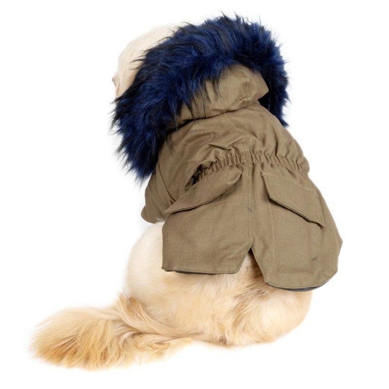 de luxo casaco para cães hoodies à