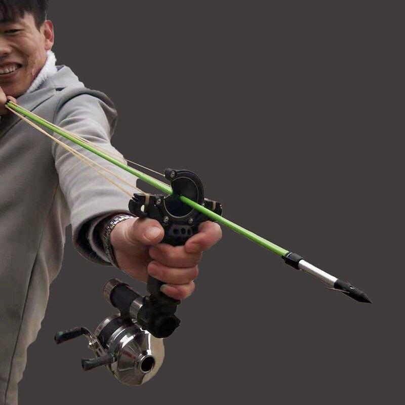 Охотничья рыболовная Рогатка, катапульта, лук, щетка для стрел, лук, Рогатка, катапульта, арбалета, стрельба, рыба, новинка 2020