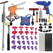 car tool kit paintless dent repair dent lifter wedges for car door glue tabs suction cup dent puller kit