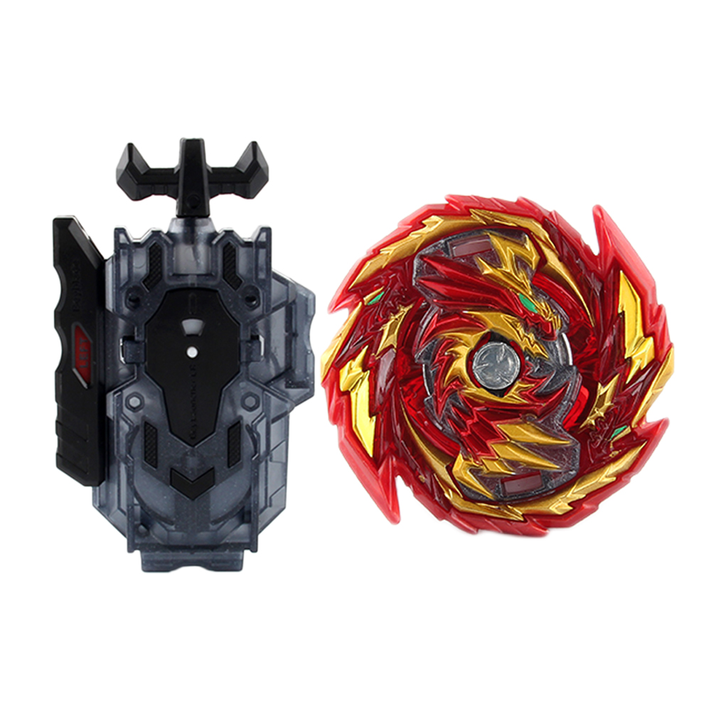 Burst Gyro Spinning Top Kids Battle Combat Toy with Launcher Set for Kids Gift