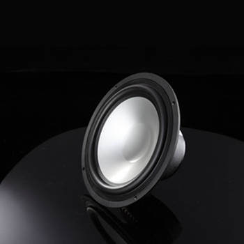 2pcs/lot 6.5 inch Car Audio Mid-range Speaker Round Rubber Edge Silver Aluminum Cone 6 300W 4 Ohm HiFi Woofer Free Shipping