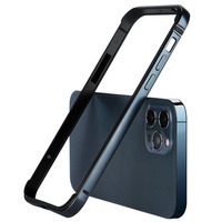 Funda protectora de lujo para iPhone, accesorios de silicona de aluminio para iPhone 12 Mini 11 Pro MAX 12Pro 11Pro X XS XR 8 7 iPhone 12