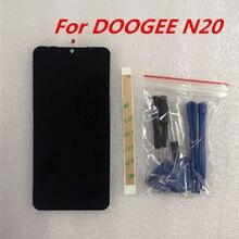 Новинка Для DOOGEE N20 6,3 дюймов FHD+ 1080*2280 экран телефона ЖК-дисплей+ кодирующий преобразователь сенсорного экрана в сборе Замена стекла