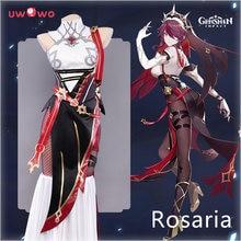 Uwowo Genshin-Disfraz de Cosplay para mujer, traje de Cosplay, uniforme de Anime, Halloween, preventa