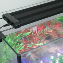 Gako Aquarium Light Colorful LED Aquatic Light White Black Extendable Brackets Lamp