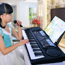 61 key electronic piano adult children piano tuba teaching piano with microphone puzzle early education toys g c pfeiffer piano piece no 1