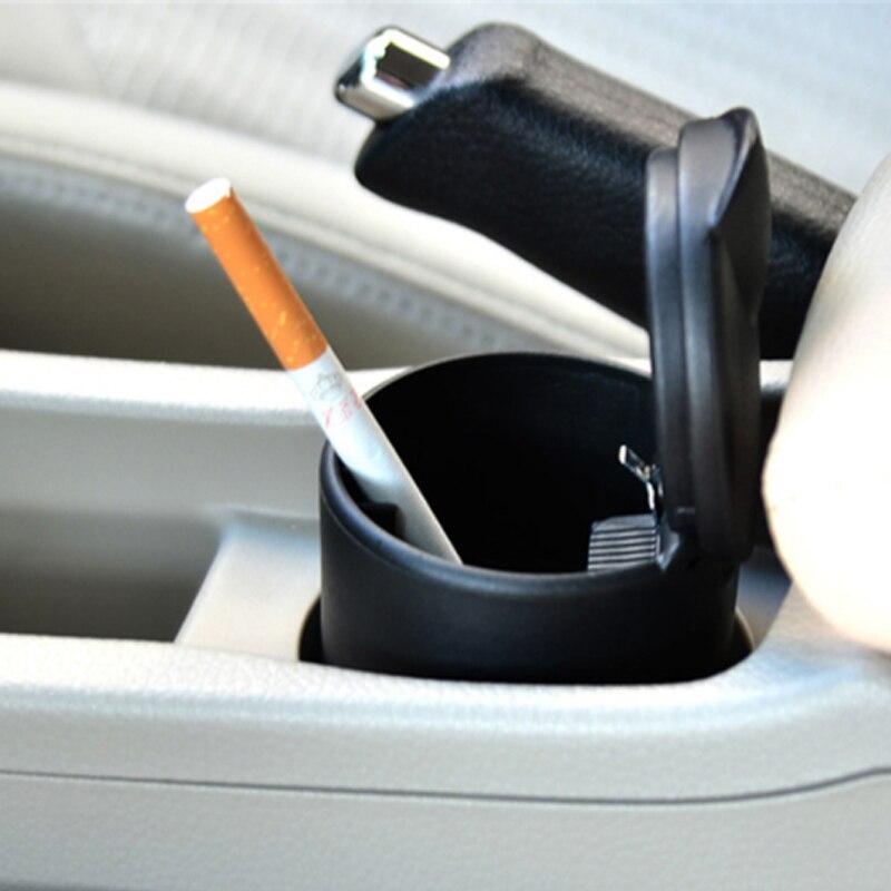Cendrier de voiture Portable haute température cendrier de voiture bureau à domicile cendrier sans fumée porte-cendrier cylindre de Cigarette