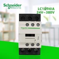 4P AC contactor 25A control coil voltage 24 V 36V 110V 220V 380V 50/60Hz one open one closed LC1DT40B7C/CC7C/F7C/M7C/Q7C