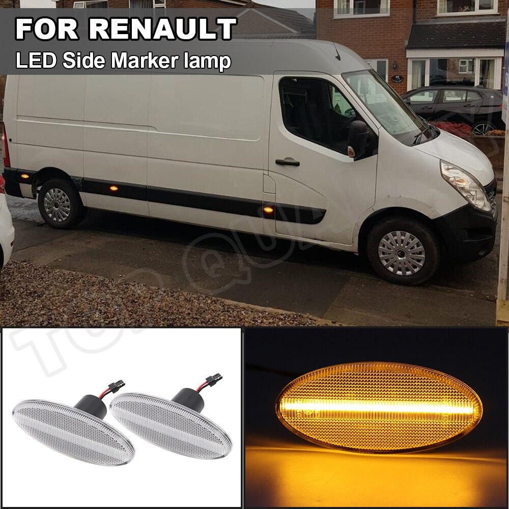 2010 Renault Master Indicador de luz de espejo izquierdo para Opel Movano 2010-presente presente 2010-presente Nissan NV400 presente 2012