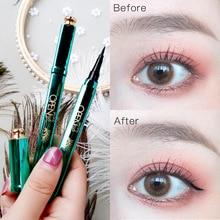 Eyeliner Pencil Waterproof Professional Liquid Long Lasting Cosmetics Eye Liner Pen Black Smooth Make Up Tools недорого