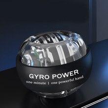 Novo auto-partida fidget spinner adulto estresse reliever brinquedos de pulso exercício de energia antiestresse giroscópio brinquedo cinético com luz led