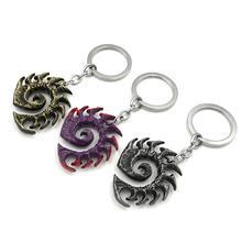 Брелки для ключей с логотипом terran god zerg декоративные металлические