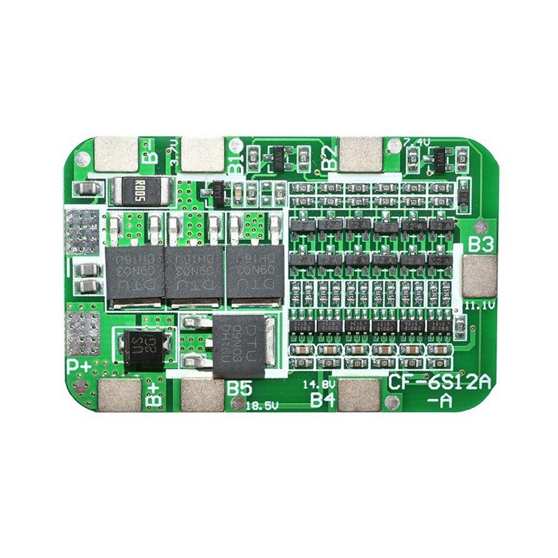 6S 15A 24V PCB BMS Charger Protection Board For 6 18650 Li-Ion Lithium Battery Cell Module DIY Kit