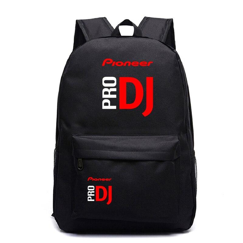 Pioneer Pro Dj Harajuku Backpack School Bags For Teenage Girls Boys Daily Backpack Kids Book Bags Casual Travel Bags Satchel