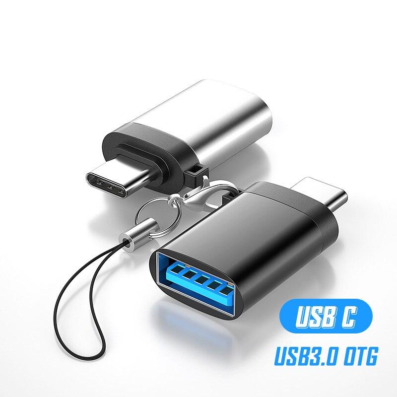 Adaptateur USB de Type C à USB 3.0 OTG, convertisseur pour Huawei Xiaomi Mi 10 Pro 9 9t, USB3.0