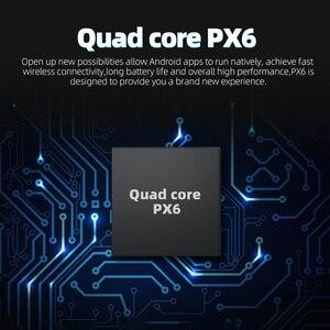 Image 2 - ذاكرة الوصول العشوائي 4G + 64GB 6 Core أندرويد 10.0 PX6 لتحديد المواقع والملاحة Autoradio الوسائط المتعددة مشغل ديفيدي بلوتوث واي فاي ميرورلينك DSP OBD2 العالمي