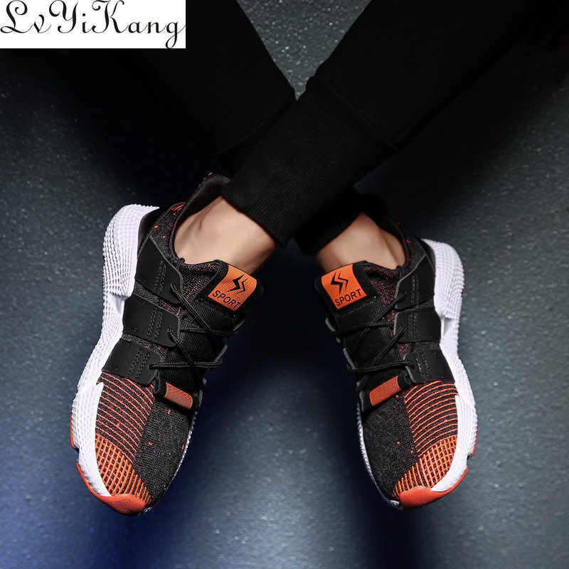 2019 Hot Koop Fashion Casual Schoenen voor Mannen Lente Herfst Mannelijke Sneakers Licht Camouflage Lace-up Platte Schoenen Comfortabele schoeisel