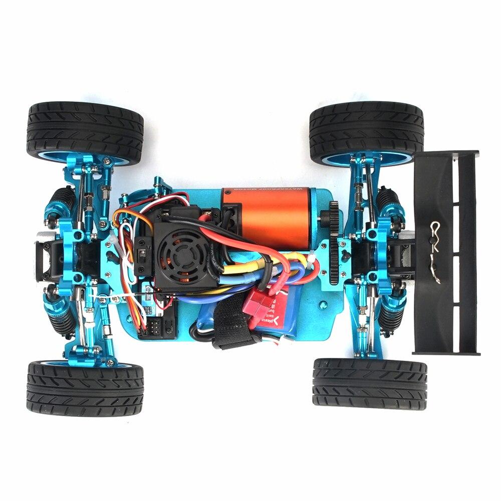 For WLtoys 12428 A959-B Quality RC Car Parts Waterproof B3650 4300KV 3300KV Brushless Motor 60A ESC Metal Servo Assembly Set