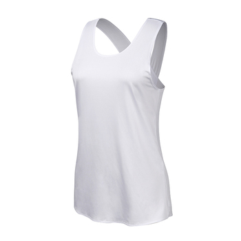 Yoga Shirt Women Gym Shirt Quick Dry Sports Shirts Cross Back Gym Top Women's Fitness Shirt Sleeveless Sports Top Yoga Vest 4