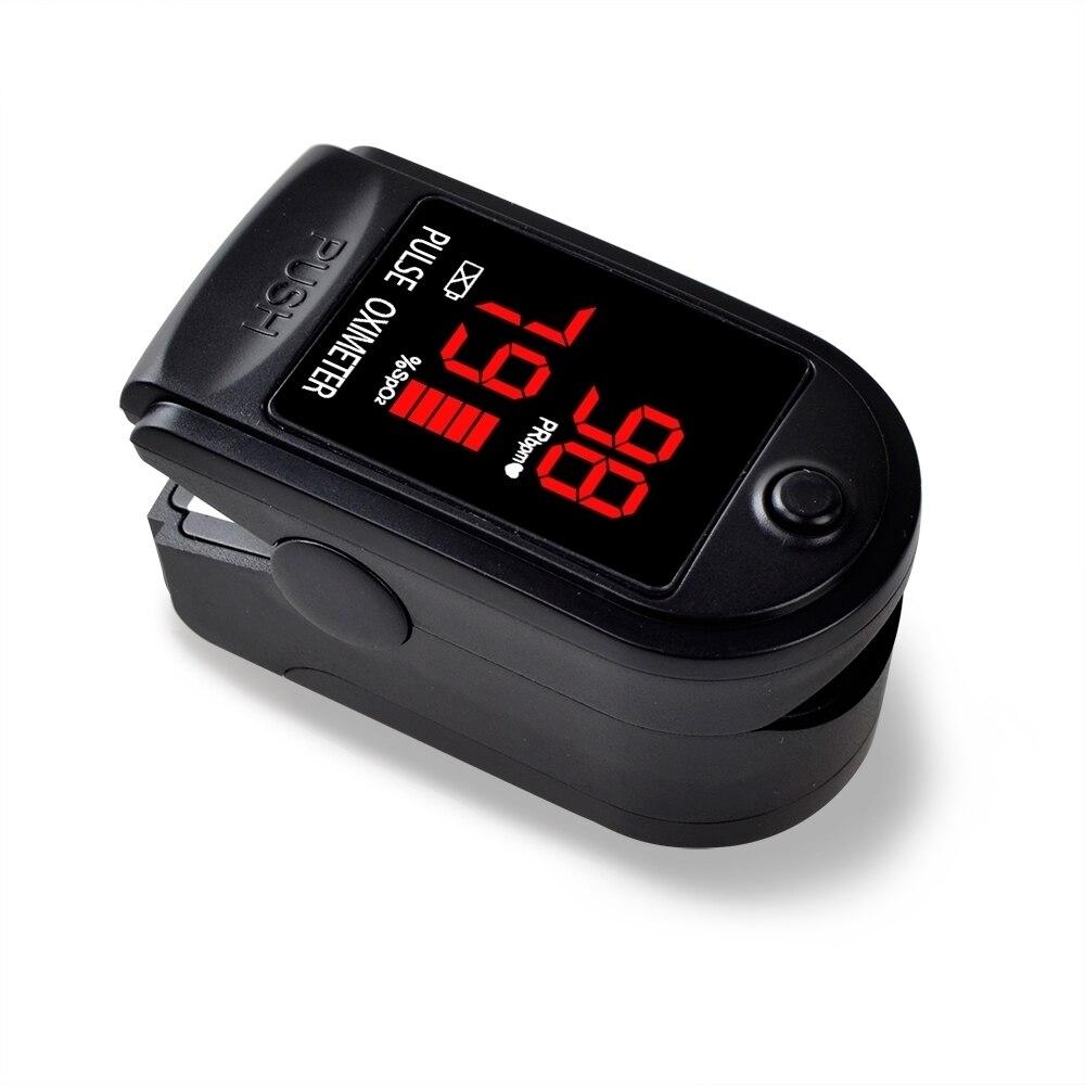 Oxymètre numérique du bout des doigts Spo2 PR moniteur oxygène sanguin oxymètre de pouls oxymètre de pouls du doigt oxymètre de pouls