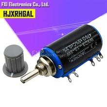 1pcs WXD3-13 2W Potenciômetro + 1 1 Cinza botão 100 200 220 K 2.2K 3.3K 4.7K 5.6K 6.8K 47 33 22 10K K K K 100K Ohm WXD3-13-2W