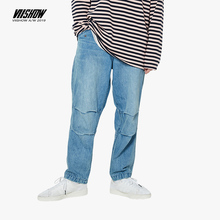 VIISHOW Famous Brand autumn jeans for men High Quality fit pants classic jeans male denim jeans soft Straight Trousers NC1977193