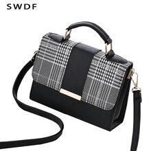 SWDF 2020 Summer Fashion Women Bag Handbags For Travel PU Shoulder Bag Small Flap Crossbody Bags For Women Messenger Bags Purse цена 2017
