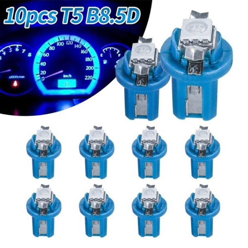 10X T5 B8.5D измеритель, 2 светодиодный лампы для приборной панели автомобиля, Аксессуары для автомобилей