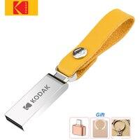 KODAK-Mini unidad Flash USB de metal, cordón para llaves, USB 3,1, memoria USB 2,0, 16GB, para ordenadores portátiles de coche, MacBook