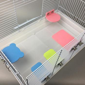 Chomik plastikowa platforma papuga platforma ptak stojak platforma dla klatka dla chomika papuga stojak chomik okonie akcesoria do zabawek tanie i dobre opinie CN (pochodzenie) PVC(Polyvinyl chloride) plastic 6653385