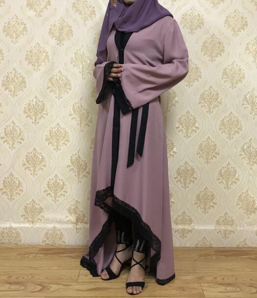 Muslim Cardigan Lace Irregular Baju Kebaya