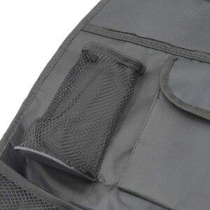 Image 4 - Universal à prova dwaterproof água assento de carro volta organizador saco armazenamento multi bolso pendurado bolsa sortido 58cm x 38cm acessórios automóveis preto