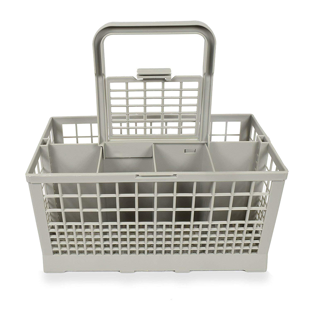 Cutlery Basket Universal Storage Box Dishwasher Part Handle Detachable Convenient Cleaning Practical Professional For Bosch