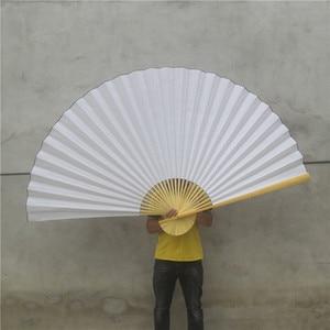 Ventilador de pared grande blanco, ventilador colgante de un solo lado de Color sólido, decoración de muebles para el hogar, ventilador grande