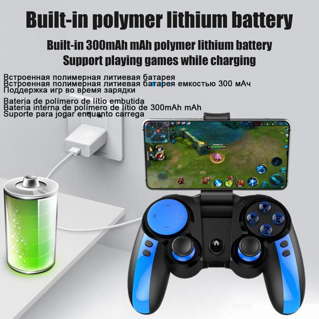 PG-9090 Gamepad Trigger Pubg Controller Mobile Joystick For Phone Android iPhone 5