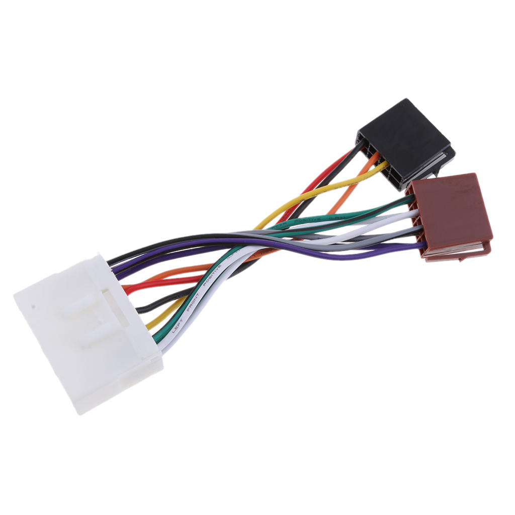 Car Stereo Radio ISO  Wire Harness Connector Cable For Daewoo/Ssangyong