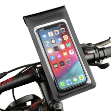 360° Rotation Bike Phone Holder Bicycle Motorcycle Waterproof Phone Mount Case Bag for iPhone X XS XR 7 8 11 Samsung Note 20 S9
