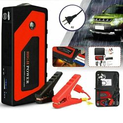 12V Portable USB Car Power Bank Auto Emergency Start Jump Starter Voltage Regulation Overcharge Protection Battery Booster Clamp
