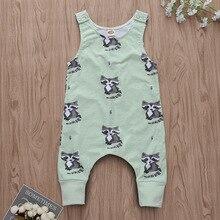 Cartoon Baby Animal Costume Newborn Romper Summer Sleeveless Tiny Cottons Jumpsuit Funny Baby Onesie New Born Baby Clothes